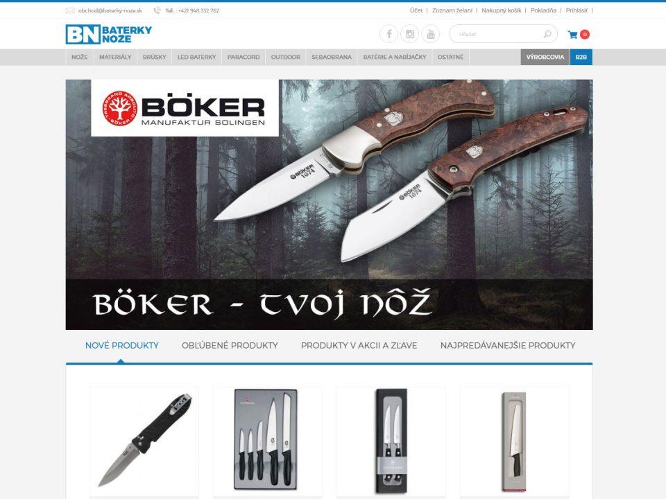 Referencia - baterky-noze.sk - vega solutions s.r.o.