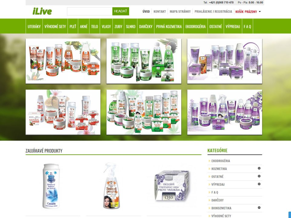 Referencia - iLive.sk - vega solutions s.r.o.