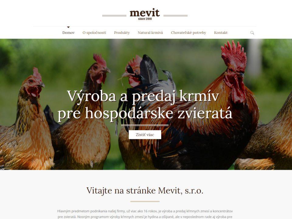 Referencia - mevit.sk - vega solutions s.r.o.