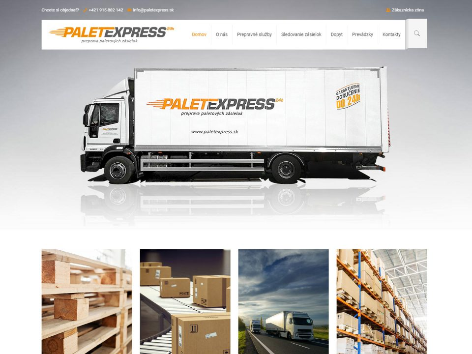 Referencia - paleteexpress.sk - vega solutions s.r.o.