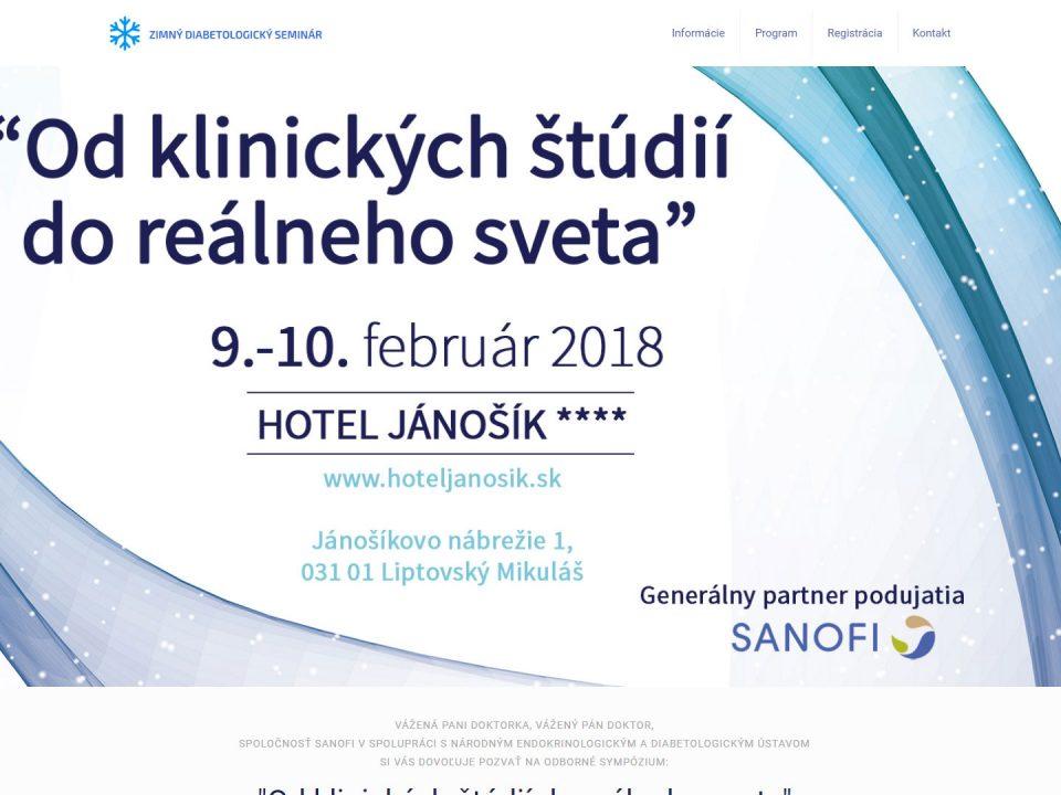 Referencia - zimnydiaseminar.sk - vega solutions s.r.o.